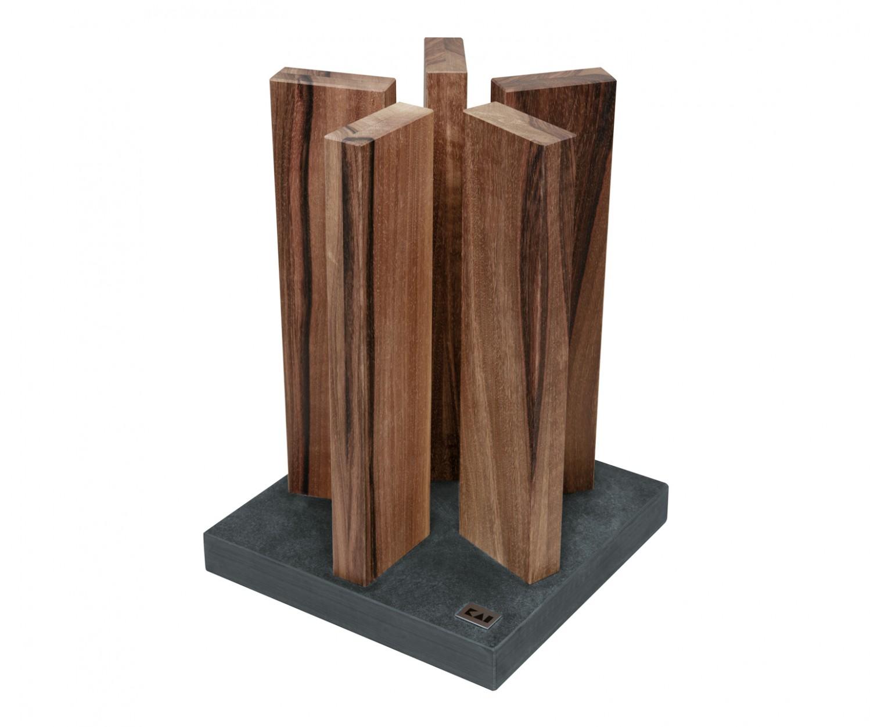 kai stonehenge messerblock walnuss gro. Black Bedroom Furniture Sets. Home Design Ideas